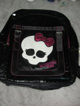 MONSTER HIGH BACKPACK EXCELLENT CONDITION in Camp Lejeune, North Carolina