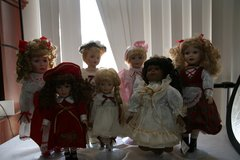 Porcelain doll collection in Alamogordo, New Mexico