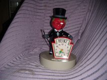 "Vintage Heinz Collectible ""Mr. Aristocrat"" Tomato Man Talking Alarm Clock in Warner Robins, Georgia"