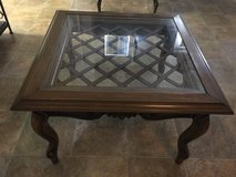 Square & Glass End Table in 29 Palms, California