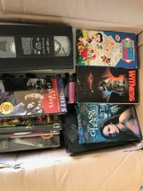 Assorted DVDs and VHS Tapes in Ramstein, Germany