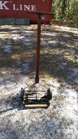 Antique Olde time lawn mower in Camp Lejeune, North Carolina