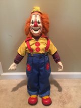 "Rare Vintage 26"" Buttons the Clown Porcelain Doll in Beaufort, South Carolina"
