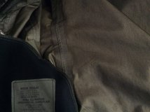 Gor Tex jacket. MR in Camp Lejeune, North Carolina