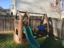 STEP2 Naturally Playful Playhouse Climber & Swing in Bolling AFB, DC
