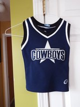Cowboys cheerleader outfil, sz S in Wilmington, North Carolina