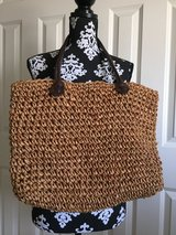 BIG Woven Straw Beach Bag Tote Purse in Westmont, Illinois