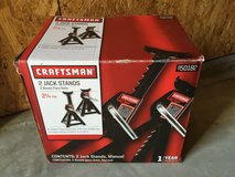 Craftsman Jack Stand in Fort Irwin, California