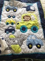 baby comforter with crib skirt-$3 in Naperville, Illinois