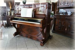 Rare antique upright piano from the renowned French manufacturer Pleyel in Wiesbaden, GE