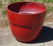 Large Red  Flower Pot in Fort Campbell, Kentucky