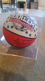 Harlem Globetrotters Signed Ball in Plainfield, Illinois