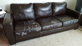 Dark Brown couch/sofa in Fairfield, California
