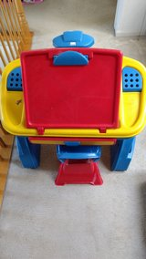 Children's Art Desk with chair in Wheaton, Illinois
