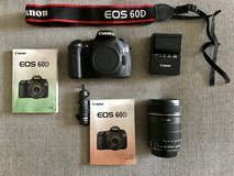 Canon EOS 60D 18.0 MP DSLR with 18-135mm IS II LENS in Fort Leonard Wood, Missouri