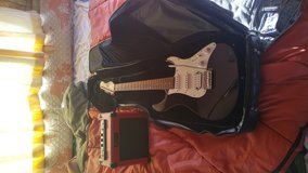Guitar,Amp,Case,Cord Complete in Yucca Valley, California