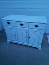 White / Solid Wood / Cape Cod Captains Cabinet in Fort Campbell, Kentucky
