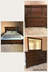 King bed frame with dresser and night stand in Hinesville, Georgia