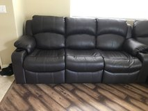 Leather sectional in Lake Elsinore, California