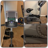 Gold's gym power spin 290 upright bike in Baytown, Texas