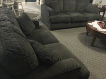 Dark green couch and love seat in great condition in St George, Utah