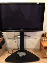 Excellent picture, Panasonic 50 Viera Plazma flat Screen, with nice raised stand with glass shel... in Okinawa, Japan