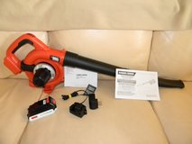 20 Volt Max Lithium Cordless Leaf Blower Sweeper in Elgin, Illinois