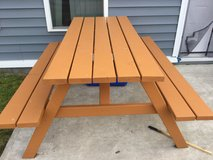 Beautiful hand built outdoor table in Watertown, New York