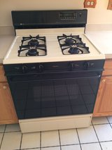 Very clean nice Maytag range. Bisque and black. in Naperville, Illinois
