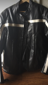 Joe Rocket leather jacket padded (xL) in Vacaville, California