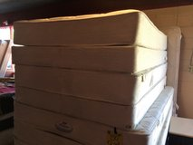 Full Size Simmons Beauty Rest Mattress and Box Foundation in Leesville, Louisiana