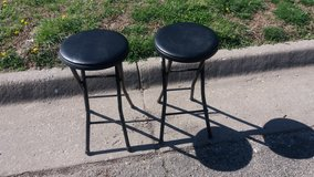 Two stools in Fort Riley, Kansas