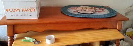 Solid wood coffee table in Fort Campbell, Kentucky