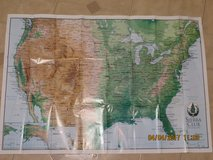 Wall Map of North America from the Sierra Club in Glendale Heights, Illinois
