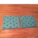 REDUCED PRICE! Pottery Barn Euro Shams, set of 2 in Lockport, Illinois