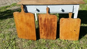 Bread boards treated and refinished in Ramstein, Germany