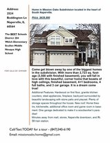 Home -For Sale By Owner in Naperville, Illinois