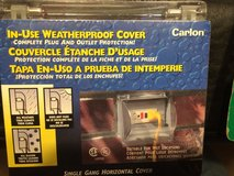 Single Gang Weatherproof In-Use Horizontal Cover, Clear in Brookfield, Wisconsin