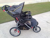 Baby Trend Navigator Double Jogging Stroller in Camp Lejeune, North Carolina