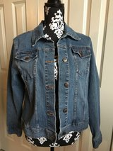 Women's LARGE Stretch Denim Jean Jacket in Lockport, Illinois