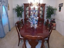 Dinning Room set solid cherry wood in Hinesville, Georgia