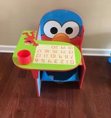 Sesame Street Desk and Chair in Naperville, Illinois