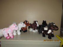 Webkinz Plush Horse Collection. Will sale individually or lot of 6 in Glendale Heights, Illinois