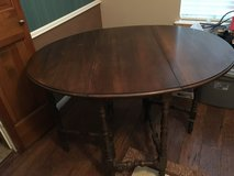 Antique drop leaf table in Katy, Texas