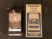 Cassette Tape Recorder,  Panasonic Model # RQ-309DS. in Vacaville, California