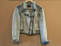 Dex 'Laundered' Jean Jacket - New - Size M in Cochran, Georgia