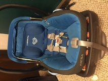 UPPAbaby car seat and base in Great Lakes, Illinois