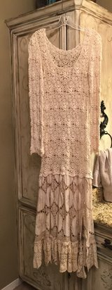 Gorgeous Shabby Chic Crochet Dress , Size Small- Medium in Spring, Texas