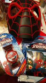 Spiderman Easter basket goodies watch puzzle in Naperville, Illinois