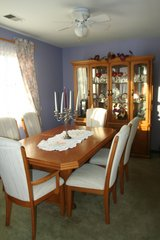 Dining Room Set -  China Cabinet, Table with two extensions, 6 Chairs in Lake Charles, Louisiana